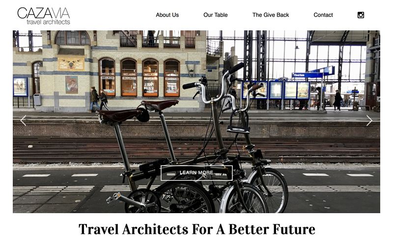 CAZAVIA Travel Architects