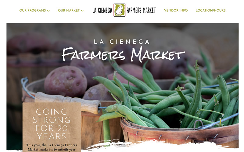 La Cienega Farmers Market Website
