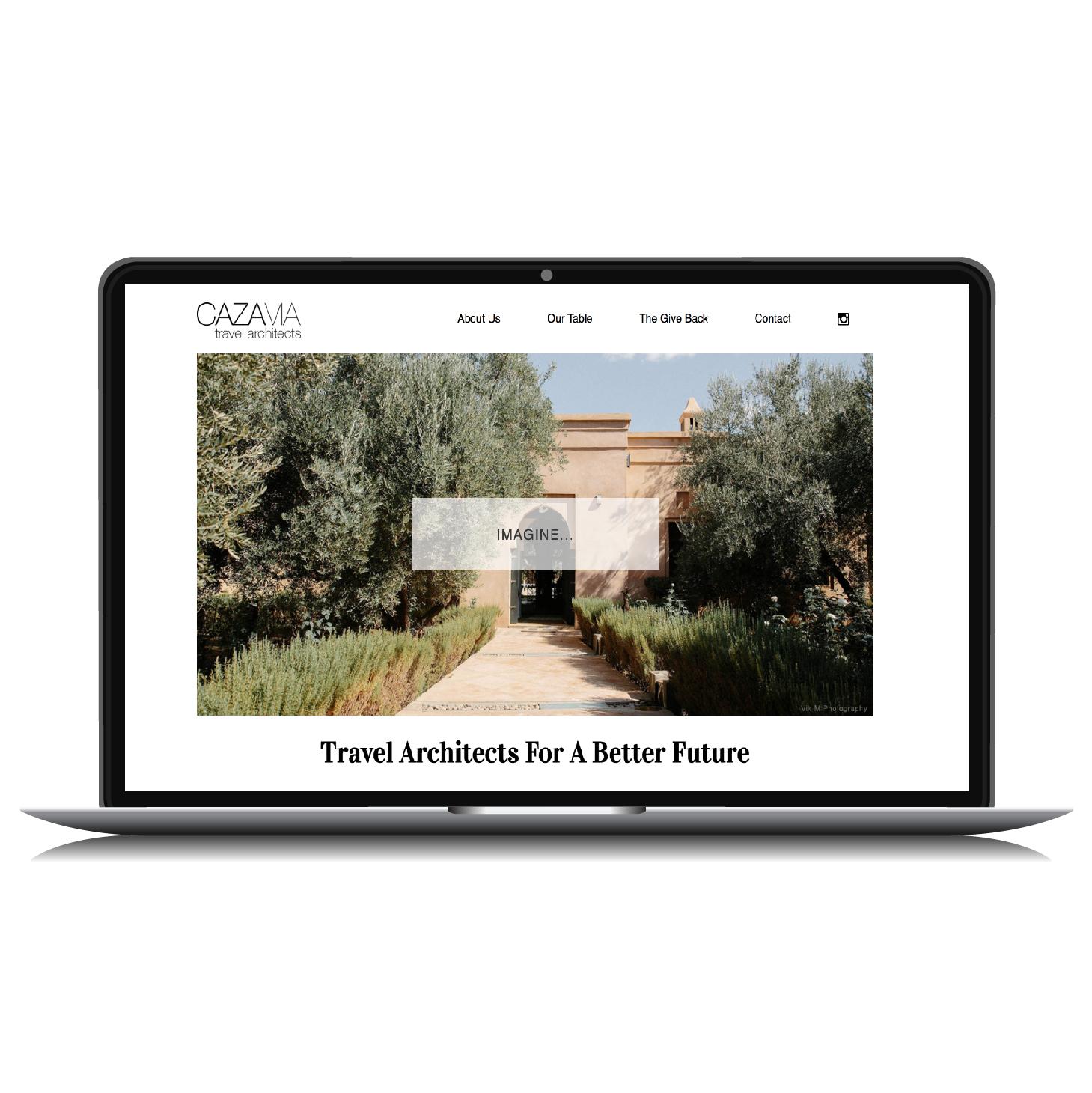 Travel Industry Website Design