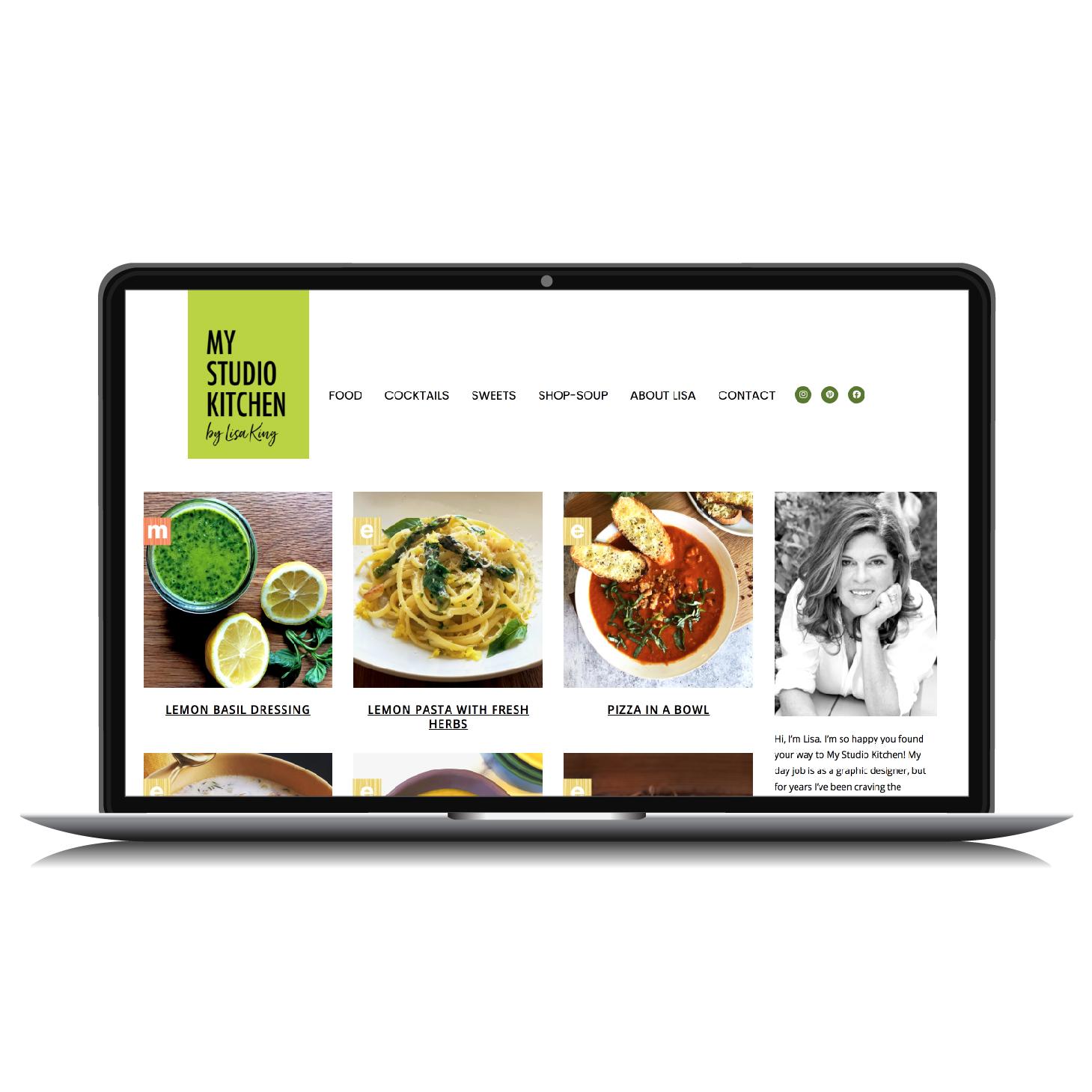 Food Blog Website
